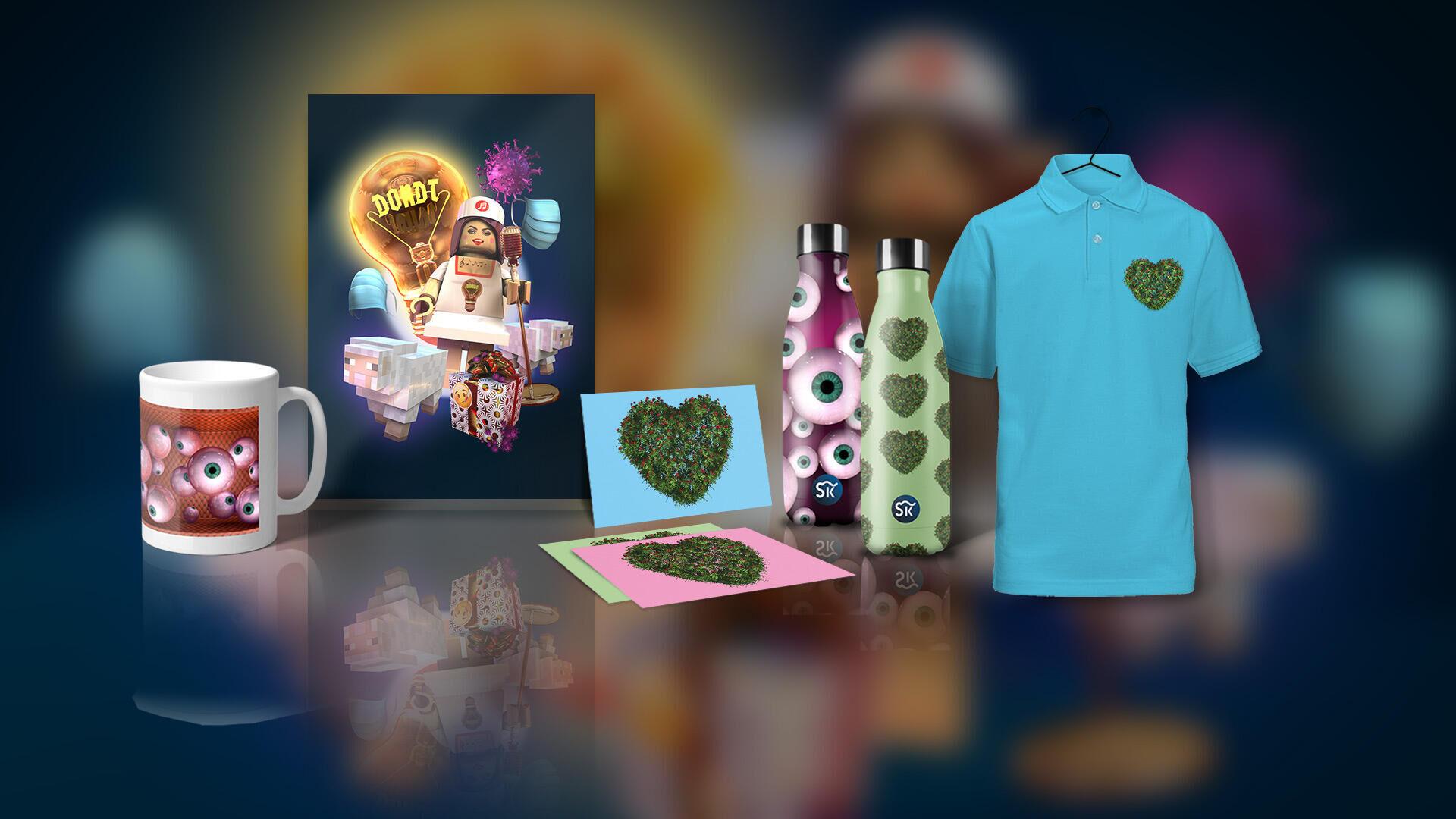 D-Light merchandise